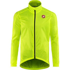 Castelli Squadra Jacket Men yellow fluo